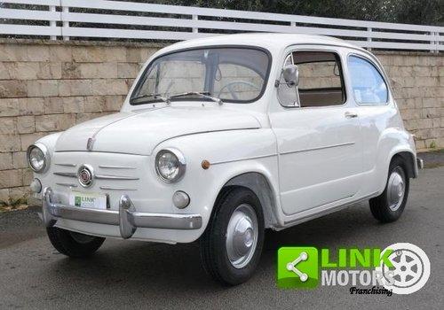 1965 Fiat 600 D 750 cc ASI TARGA ORO For Sale (picture 1 of 6)