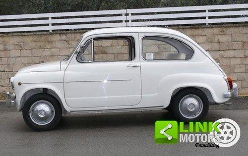 1965 Fiat 600 D 750 cc ASI TARGA ORO For Sale (picture 2 of 6)