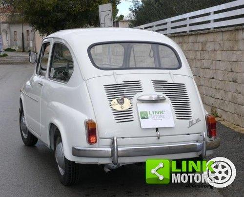 1965 Fiat 600 D 750 cc ASI TARGA ORO For Sale (picture 3 of 6)