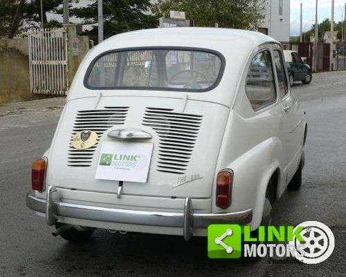 1965 Fiat 600 D 750 cc ASI TARGA ORO For Sale (picture 4 of 6)