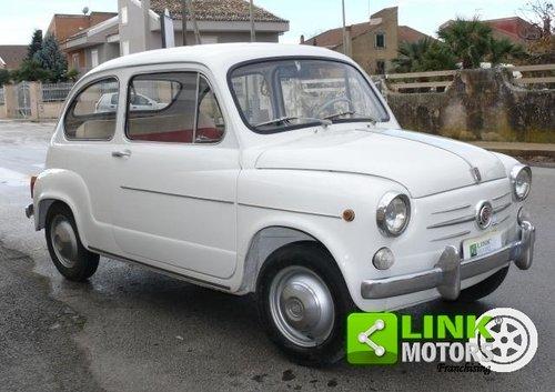 1965 Fiat 600 D 750 cc ASI TARGA ORO For Sale (picture 5 of 6)