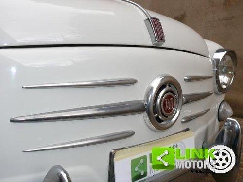 1965 Fiat 600 D 750 cc ASI TARGA ORO For Sale (picture 6 of 6)