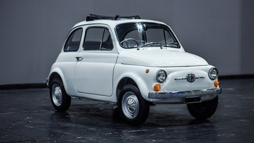 1969 Fiat 500F RHD - Famously restored live at the NEC Show SOLD (picture 1 of 6)