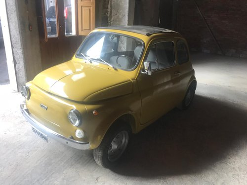 Fiat 500R model 1975, complete restored SOLD (picture 1 of 6)
