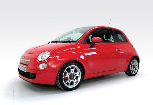 2008 Fiat 500 1.4 16v Sport Ferrari Dealer DEPOSIT TAKEN SOLD (picture 1 of 6)