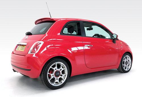 2008 Fiat 500 1.4 16v Sport Ferrari Dealer DEPOSIT TAKEN SOLD (picture 2 of 6)