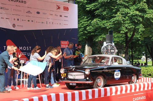 Fiat 1100 Turismo Veloce Coupé Pininfarina 1956 Mille Miglia For Sale (picture 3 of 6)