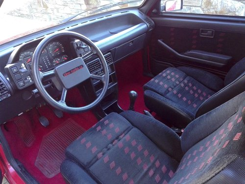 1986 As new fiat uno turbo ie mk1 For Sale (picture 3 of 6)