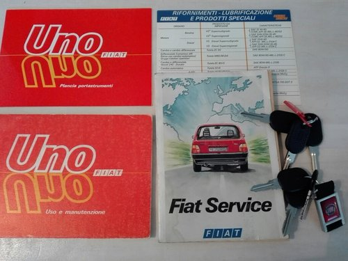 1986 As new fiat uno turbo ie mk1 For Sale (picture 6 of 6)
