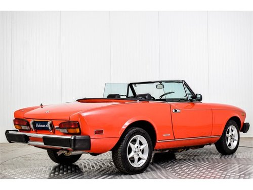 1985 Fiat 124 Pininfarina Spider Europe Azzurra For Sale (picture 2 of 6)