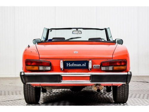 1985 Fiat 124 Pininfarina Spider Europe Azzurra For Sale (picture 4 of 6)