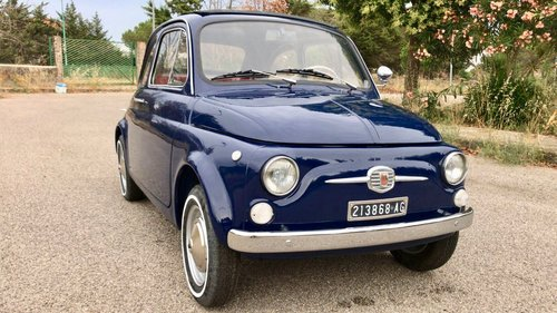 fiat 500 model 1965, restored, with 8bulloni doors SOLD (picture 1 of 6)