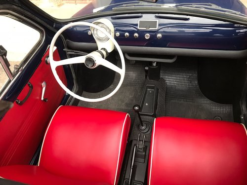 fiat 500 model 1965, restored, with 8bulloni doors SOLD (picture 5 of 6)