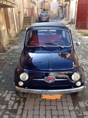 fiat 500 model 1965, restored, with 8bulloni doors SOLD (picture 6 of 6)