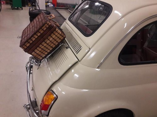 FIAT 500 L BEIGE/RED 1970     6950 euro. For Sale (picture 6 of 6)