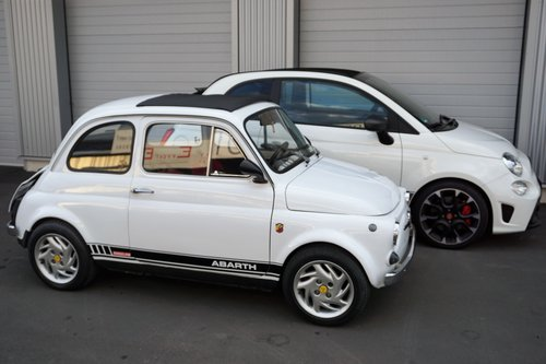 1970 Fiat 695 abarth prepared by franco  Angelini SOLD (picture 1 of 6)