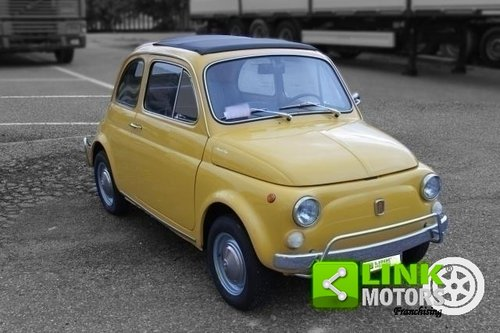 1968 Fiat 500 L - RESTAURATA - OMOLOGAZIONE ASI - For Sale (picture 1 of 6)