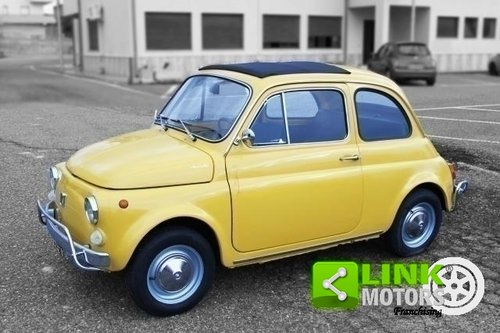 1968 Fiat 500 L - RESTAURATA - OMOLOGAZIONE ASI - For Sale (picture 2 of 6)