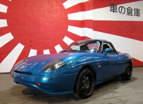1997 FIAT BARCHETTA CONVERTIBLE FRESH IMPORT TOP GRADE CAR SOLD (picture 1 of 6)