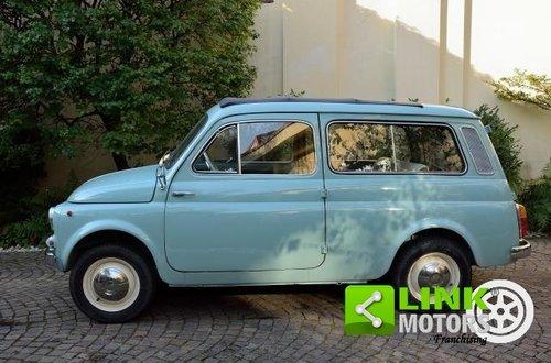 FIAT 500 GIARDINIERA, GENNAIO 1966, UNICA, CON COMPONENTI T For Sale (picture 3 of 6)