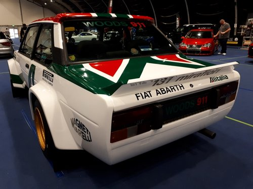 1982 Fiat 131 Mirafiori, Group 4 specification.  For Sale (picture 1 of 6)