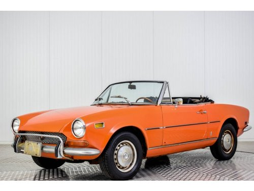 1972 Fiat 124 Spider 1600 For Sale (picture 1 of 6)