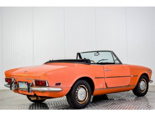 1972 Fiat 124 Spider 1600 For Sale (picture 2 of 6)