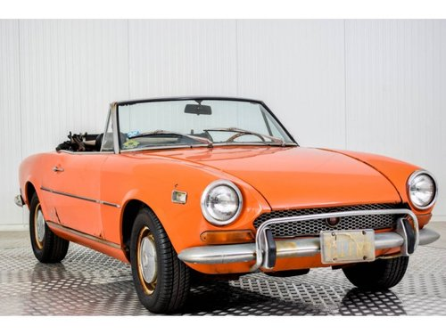 1972 Fiat 124 Spider 1600 For Sale (picture 3 of 6)