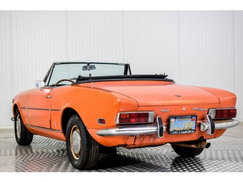 1972 Fiat 124 Spider 1600 For Sale (picture 4 of 6)