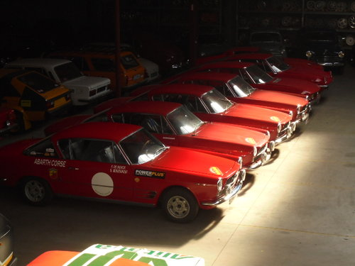 1962 Fiat 2300 S coupe Abarth For Sale (picture 1 of 4)