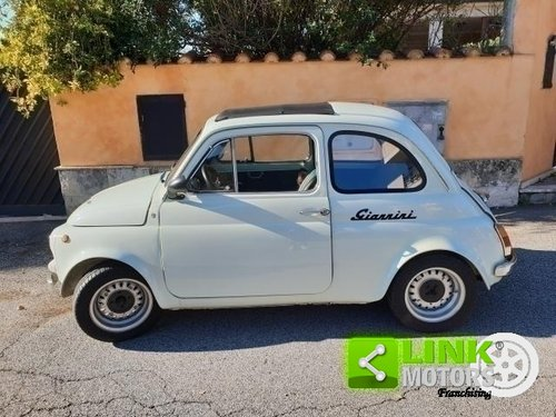 1971 Fiat 500 giannini 590gt Vallelunga originale For Sale (picture 5 of 6)