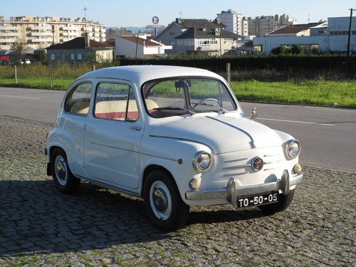 1962 Fiat 600 For Sale (picture 2 of 6)
