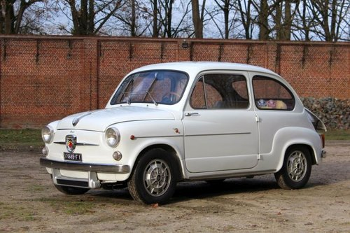 Fiat-Abarth 850TC Berlina - 1962 For Sale (picture 1 of 6)