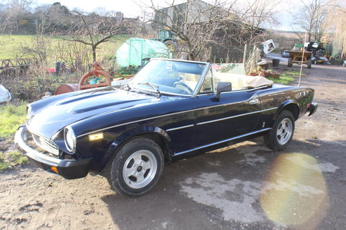 1981 FIAT 124 Spider Twin Cam For Sale (picture 2 of 6)