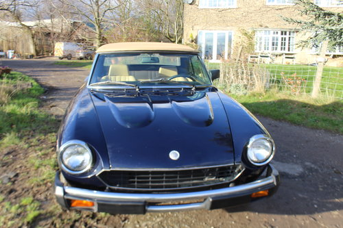 1981 FIAT 124 Spider Twin Cam For Sale (picture 5 of 6)
