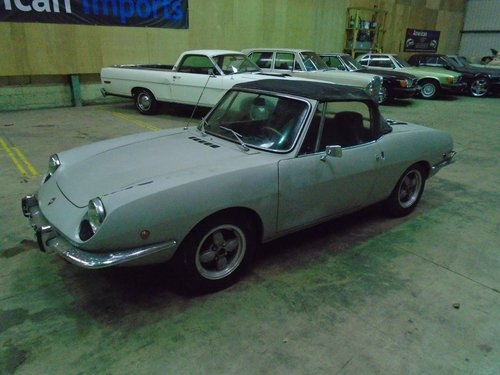 FIAT 850 SPORT SPIDER CONVERTIBLE(1969) SILVER! SOLID CAR! For Sale (picture 2 of 6)
