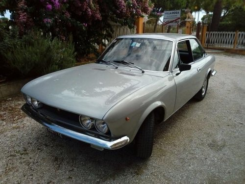 1971 Fiat 124 Sport Coupe 1600 with factory Dual carbs For Sale (picture 1 of 5)