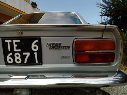 1971 Fiat 124 Sport Coupe 1600 with factory Dual carbs For Sale (picture 2 of 5)