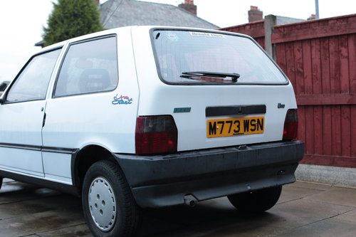 1995 Fiat Uno ie start  Classic with 9 MONTHS MOT For Sale (picture 3 of 6)