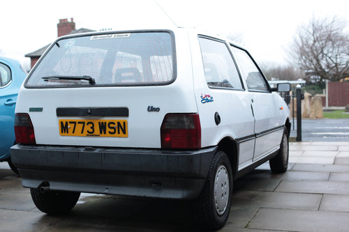 1995 Fiat Uno ie start  Classic with 9 MONTHS MOT For Sale (picture 4 of 6)