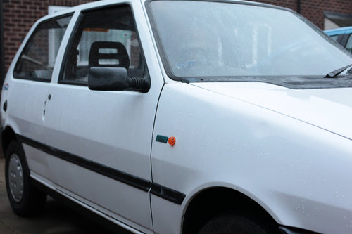 1995 Fiat Uno ie start  Classic with 9 MONTHS MOT For Sale (picture 5 of 6)