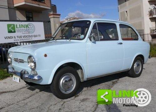 1967 Fiat 850 certificata ASI For Sale (picture 1 of 6)