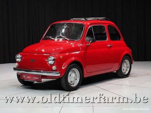 1975 Fiat 500R Red '75 For Sale (picture 1 of 6)
