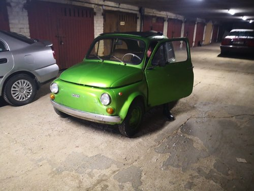 Fiat 500, 1971. Green metalic, runs , new parts For Sale (picture 4 of 6)
