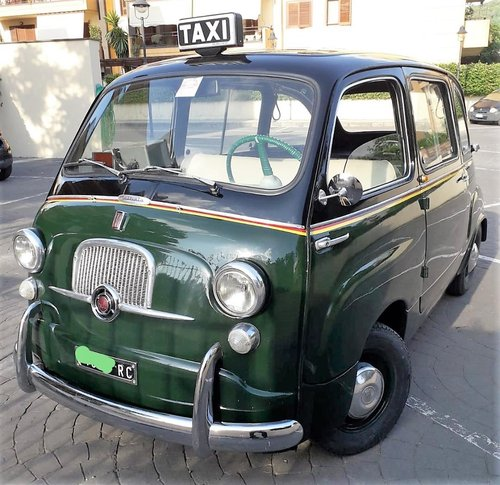 1965 Fiat Multipla 600 Taxi SOLD (picture 1 of 6)