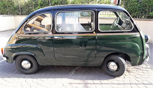 1965 Fiat Multipla 600 Taxi SOLD (picture 3 of 6)