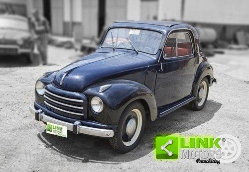 1951 Fiat 500 C Topolino Convertible Restauro Totale Asi For