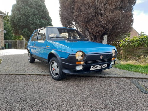 1982 Very rare series 1 FIAT STRADA 105TC -- very low mileage  For Sale (picture 1 of 3)