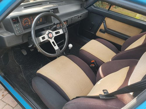 1982 Very rare series 1 FIAT STRADA 105TC -- very low mileage  For Sale (picture 2 of 3)