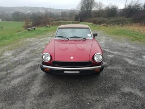 1981 Fiat 124 Spider IE For Sale